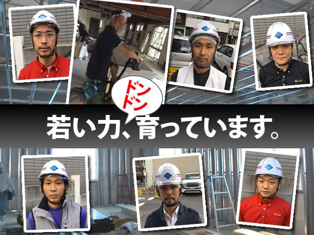 【軽天・ボード工 事務員 求人募集】-大阪市旭区- 現場への直行直帰OK!働きやすい環境です!