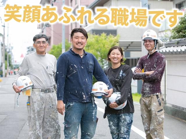 【外壁塗装工 求人募集】-大阪府八尾市- 未経験からでも防水などの技術も身につけることができる環境です!!